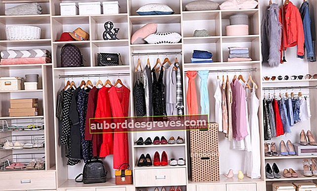 Come organizzare il tuo guardaroba: 4 consigli