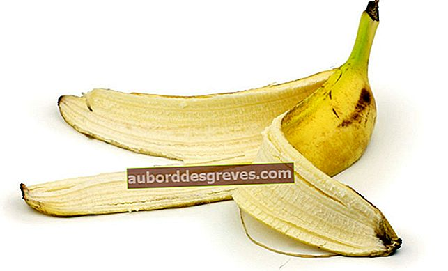 Reinigen Sie alles im Haus mit Bananenschale