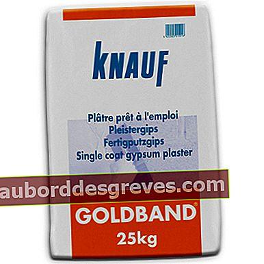Goldband gebrauchsfertiger Gips (Knauf)