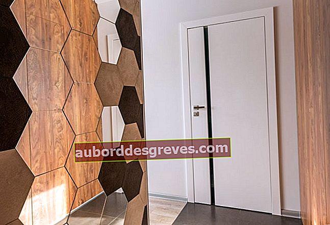 Ottimizza lo spazio di un corridoio in casa per risparmiare spazio