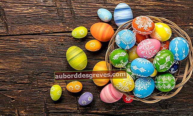 Come nascondere le uova di Pasqua in un appartamento