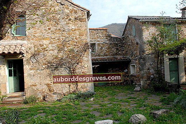 Ripristinare un muro esterno in pietra a vista