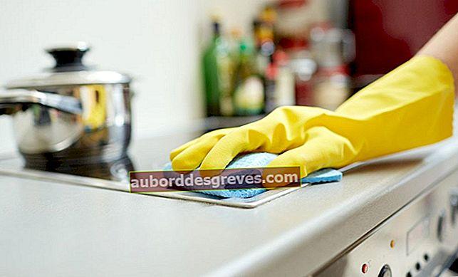 Come pulire adeguatamente la cucina con l'acqua ossigenata?
