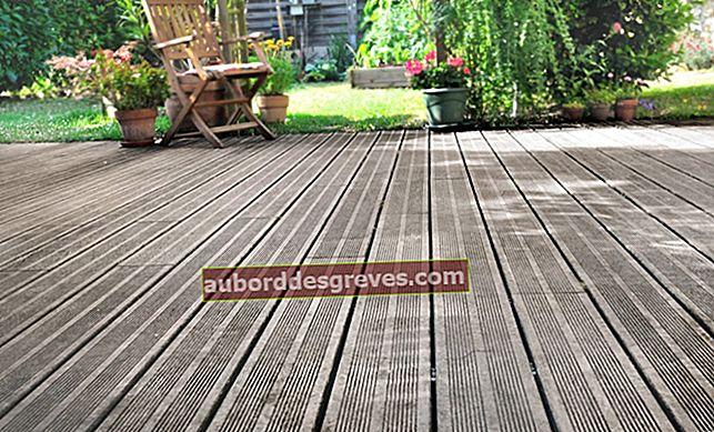 4 consigli per pulire un ponte di legno