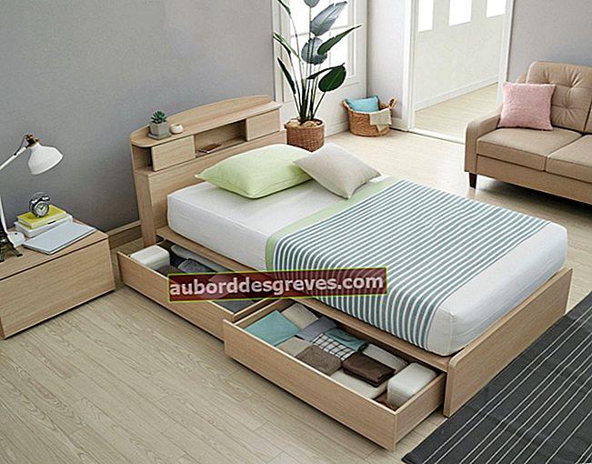 7 consigli per ottimizzare lo spazio sotto il letto