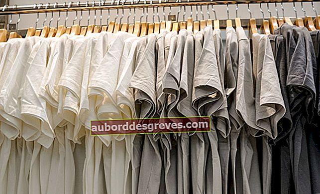 면 옷을 세탁하고 분리하는 방법?