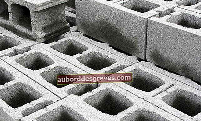 회수 된 콘크리트 블록으로 저장하는 방법?