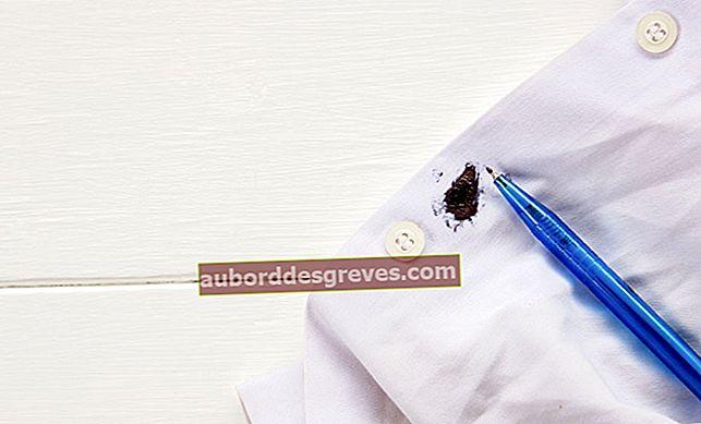 12 consigli della nonna per rimuovere le macchie di inchiostro