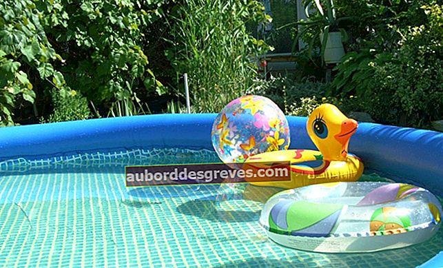 Come riparare una piscina gonfiabile?