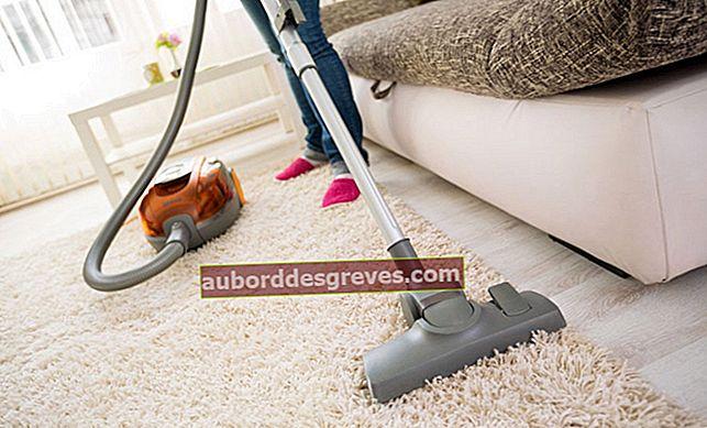 Wie kann man schlechte Gerüche von einem Teppich entfernen?