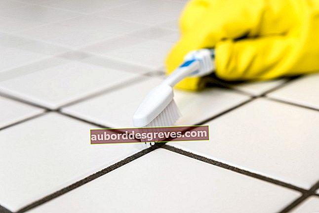 Come usare l'aceto per pulire le guarnizioni in silicone?