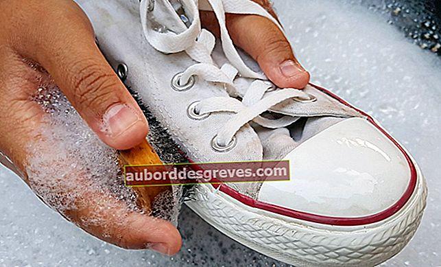 5 Tipps zum Reinigen und Ausziehen Ihrer weißen Turnschuhe