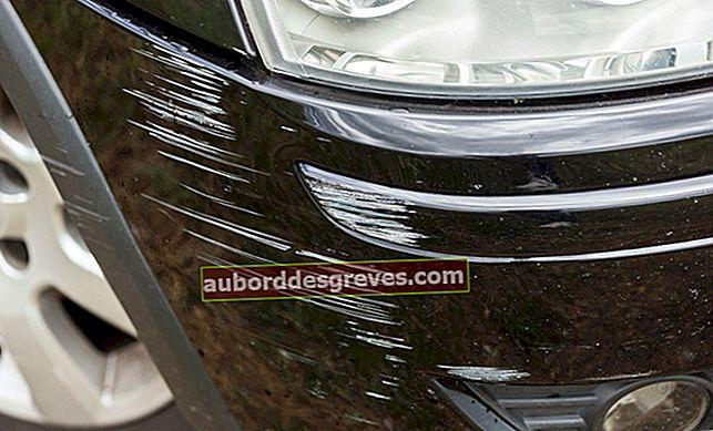 Come nascondere i graffi su un'auto?