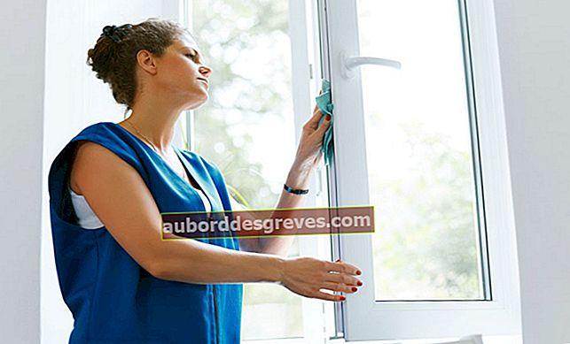 Rawat dan bersihkan rel jendelanya