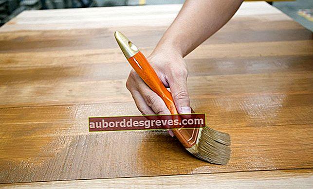 Resep membuat noda kayu sendiri