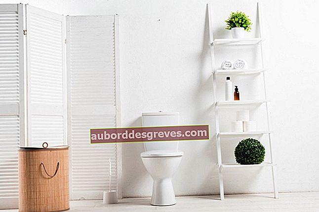 Bagaimana cara menggunakan cuka untuk menghilangkan bau toilet?