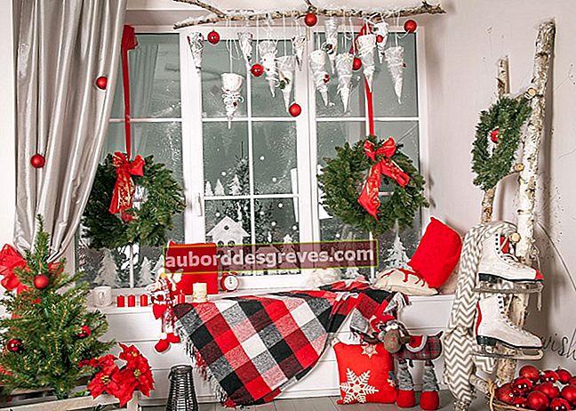 Natale: crea la tua decorazione per le finestre