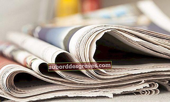 7 usi per i giornali in casa e in giardino