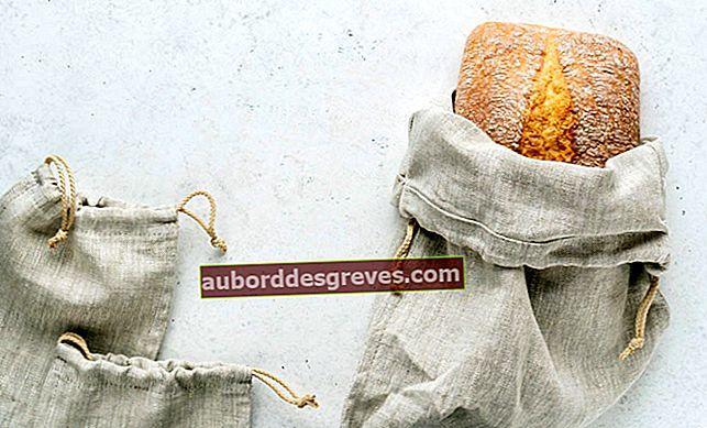 낭비 제로 : 패브릭 빵 봉지 만들기