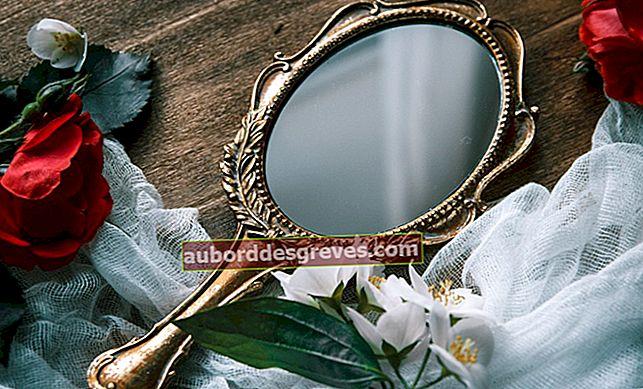 DIY: Wie kann man die Dose eines Spiegels wiederherstellen?