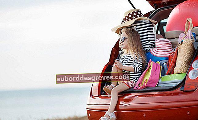 Vorbereitung auf die Ferien: Die Kinder während der Autofahrten beschäftigen